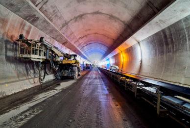 Belchen  Autobahntunnel ASTRA