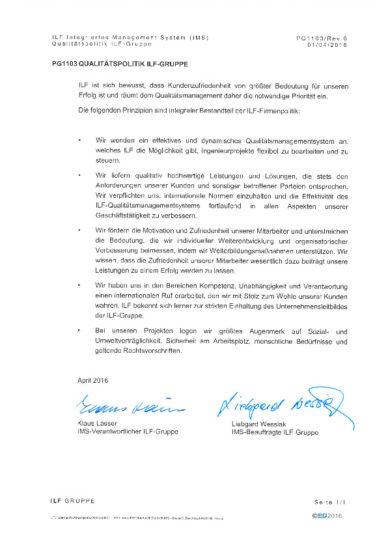thumbnail of DE_PG1103 Qualitaetspolitik der ILF-Gruppe_Rev0_signed