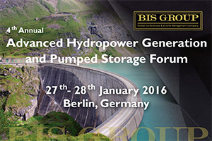 "ILF to attend the ""4th -Annual Advanced Hydropower Generation and Pumped Storage Forum"" in Berlin"