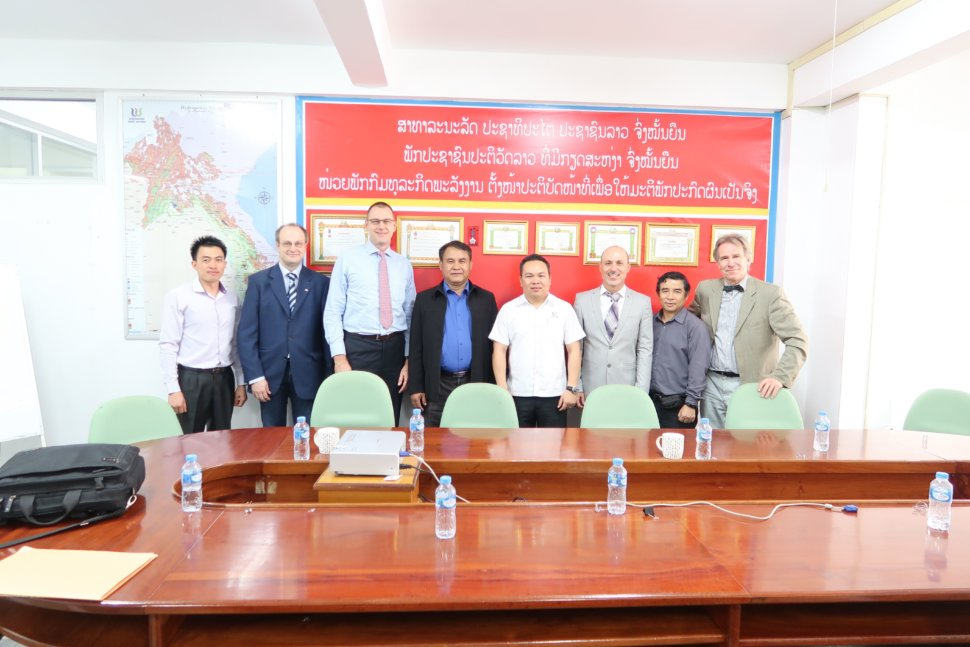 Nam Ou Contract signing