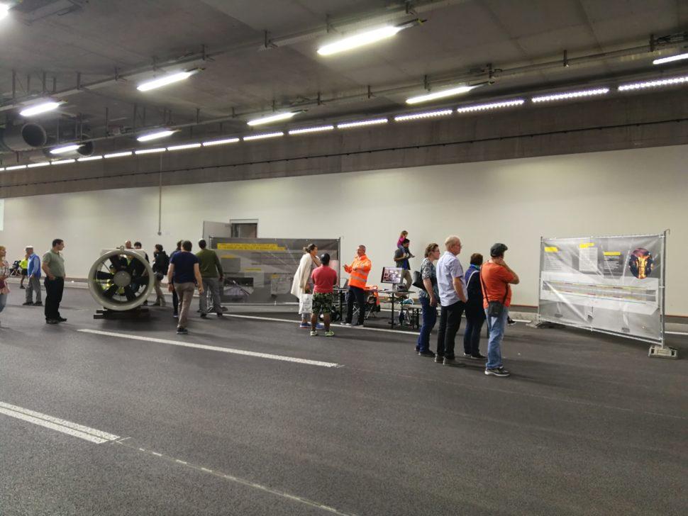 Tag der offenen Baustelle Tunnel Katzensee, Nordumfahrung Zürich