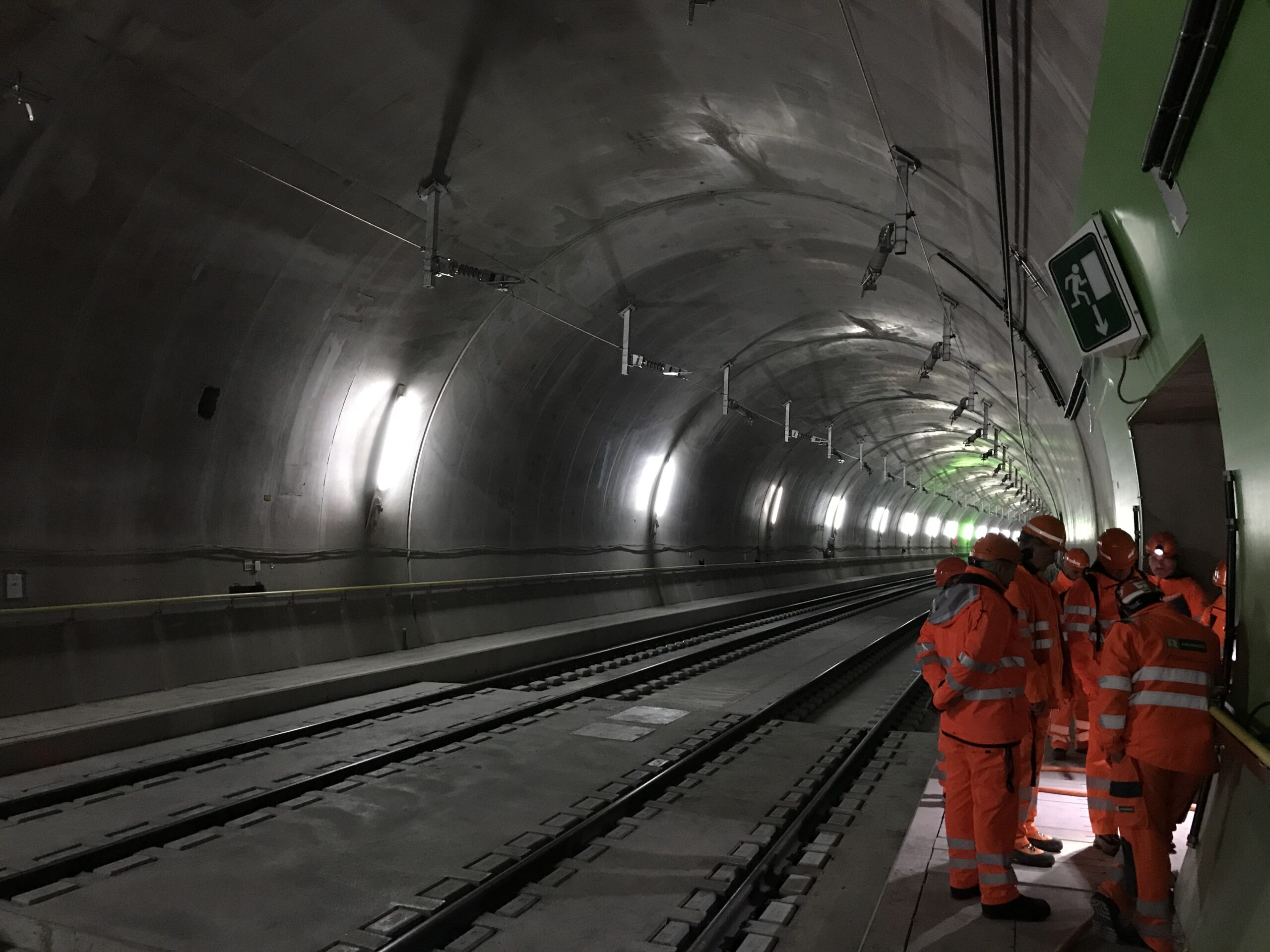 Eppenbergtunnel Schweiz - Testbetrieb