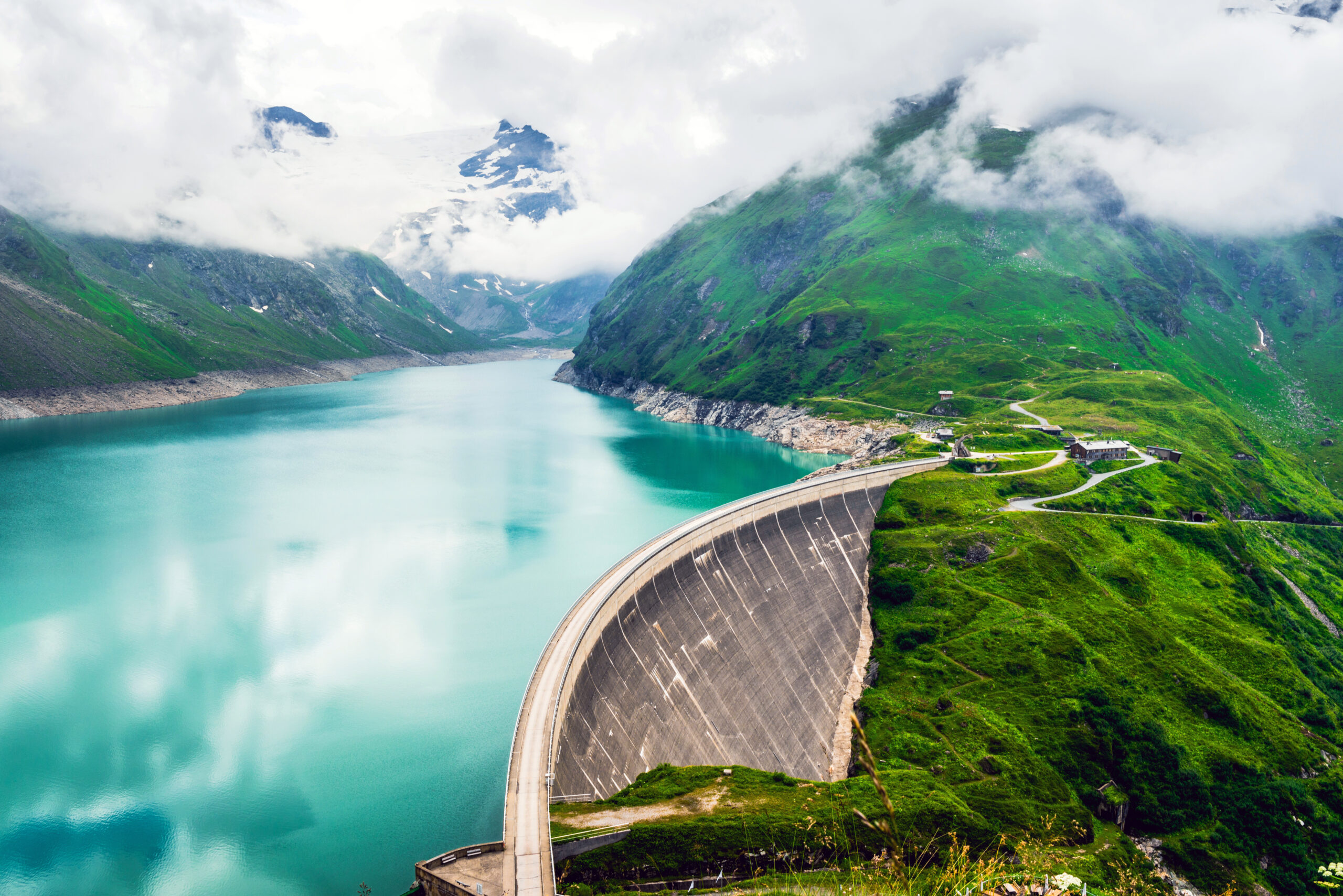Kaprun dam in Austria