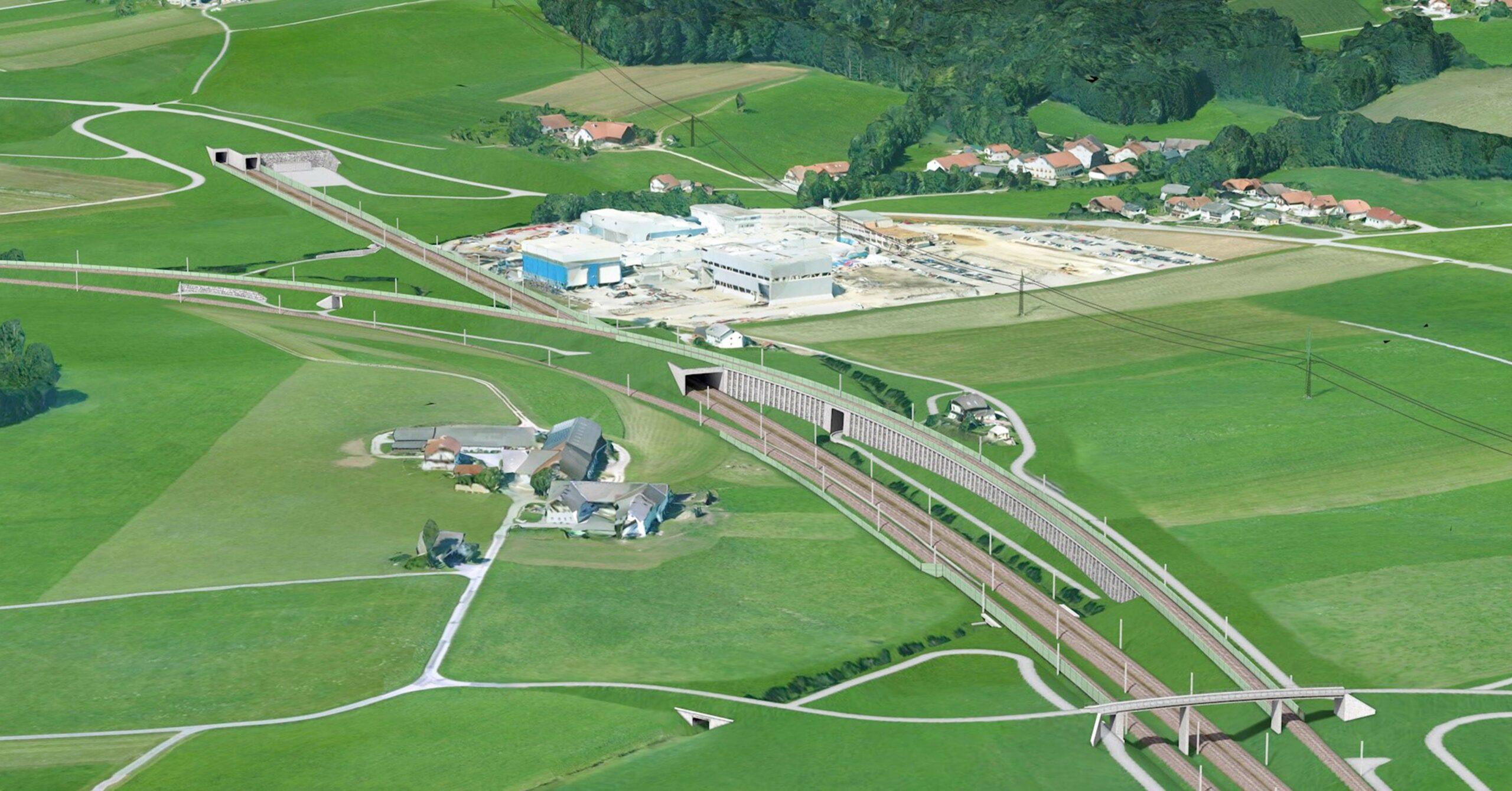 ILF tunnel Flachgau (AUT) © ÖBB EQVIS